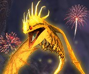 20th SoD dragon...The Fireworm Queen!