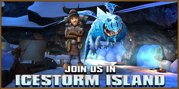 Icestorm Island feature