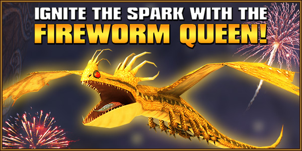 Ignite the Spark with the Fireworm Queen!