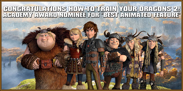 Academy Award Nominee for Best Animated Feature