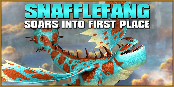 Snafflefang Soars into First Place