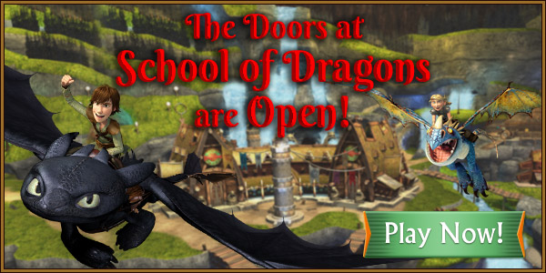 The Door at School of Dragons are Open!