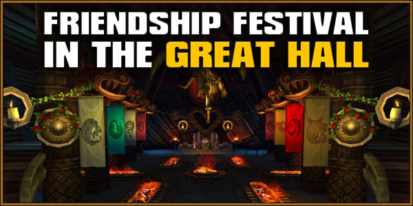 Friendship Festival in the Great Hall