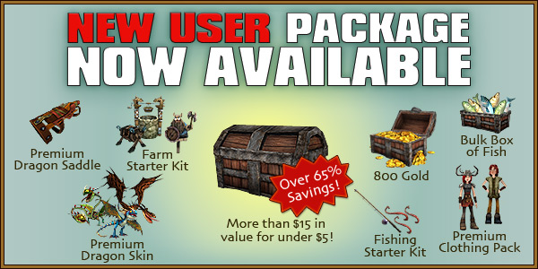 New User Package Now Available