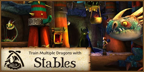 Train Multiple Dragons with Stables