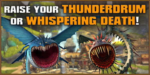 Raise Your Thunderdrum or Whispering Death!