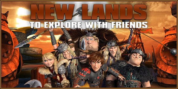 New Lands To explore with Friends