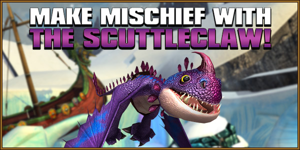 Make Mischief With the Scuttleclaw!