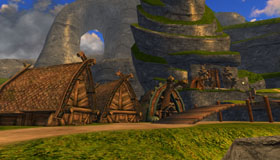 Village Hutts, Viking Village