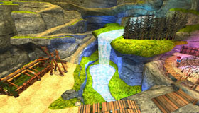 The Island Waterfall, School of Dragons