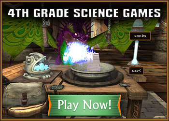 4th Grade Science Games for Kids