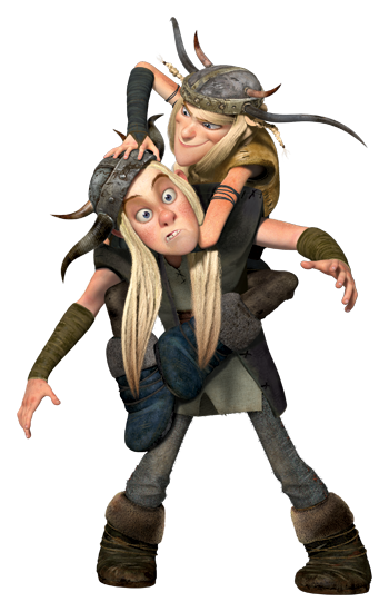 Ruffnut and tuffnut how to train your dragon school of dragons ruffnut and tuffnut are fraternal twins that participate in dragon training with hiccup the twins are constantly arguing and fighting often resolving ccuart Images