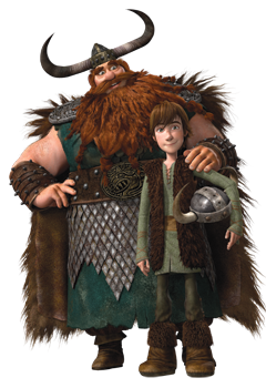 Stoic and Hiccup - How to Train Your Dragon