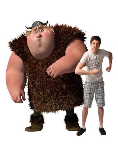 HTTYD - Fishlegs and Christopher Mintz-Plasse