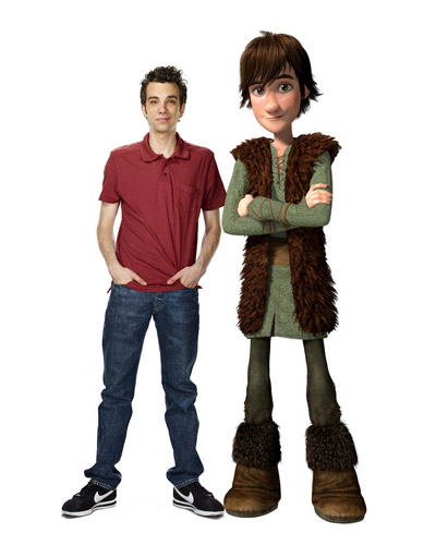 Hiccup and Jay Baruchel - How to Train Your Dragon