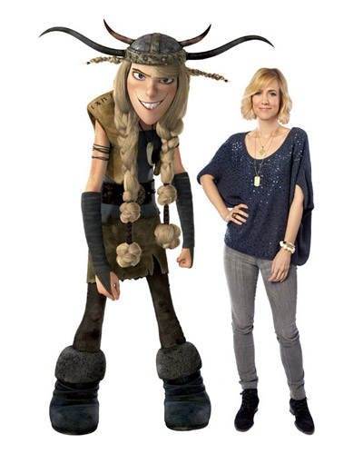 HTTYD Characters - Ruffnut and Kristen Wiig