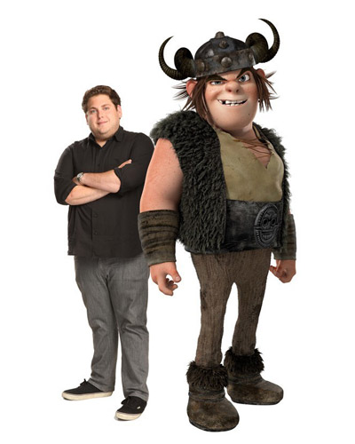 HTTYD - Snotlout and Jonah Hill