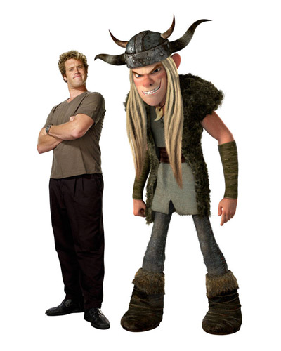 How To Train Your Dragon Characters - Tuffnut and T. J. Miller