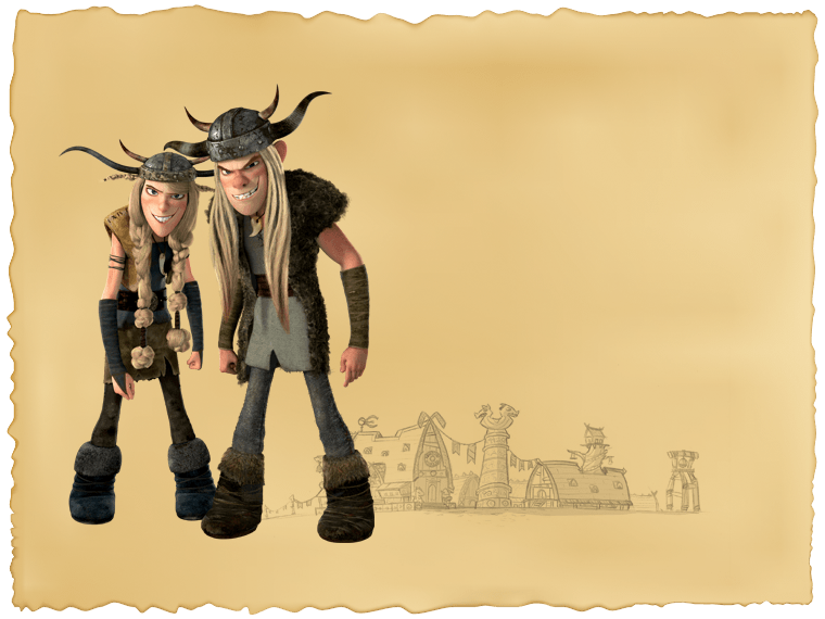 Characters how to train your dragon vikings ruffnut and tuffnut ccuart Image collections
