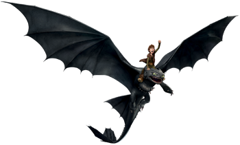 Hiccup and Toothless - Dragon and Viking Bond