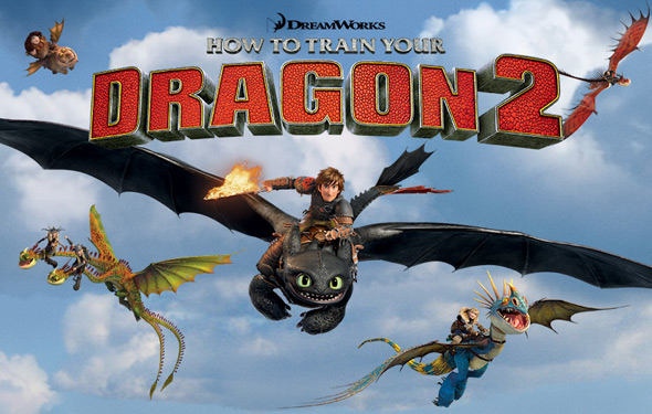 how to train your dragon 2 movie | Blue Dragon City