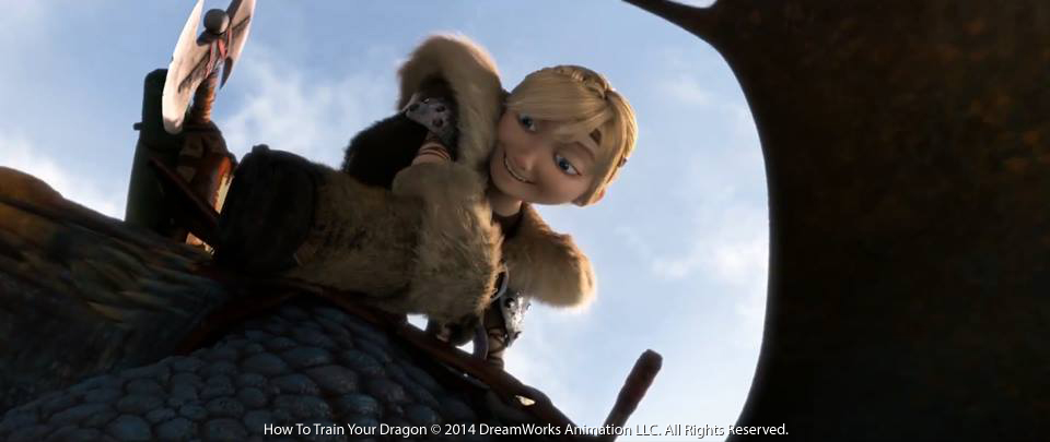 zijn hiccup en astrid uit in how to train your dragon 2