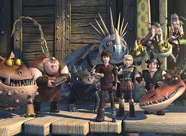 DreamWorks Dragons - Race to the Edge characters