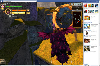 online games that include dragons