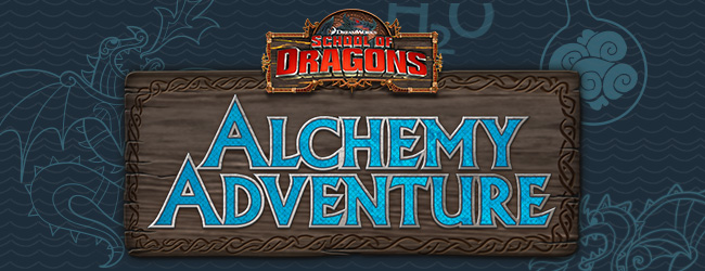 School of Dragons Alchemy Adventure Game