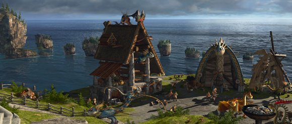 The Viking Village - School of Dragons
