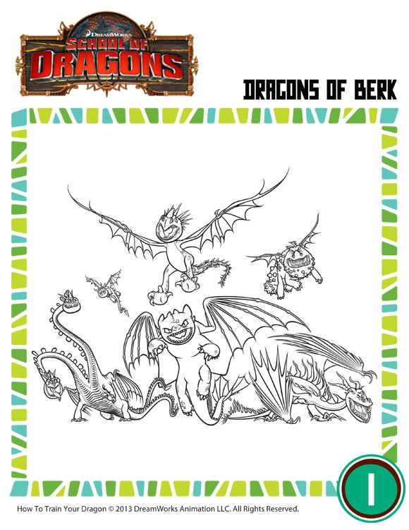 Check out dragons of berk our printable how to train your dragon
