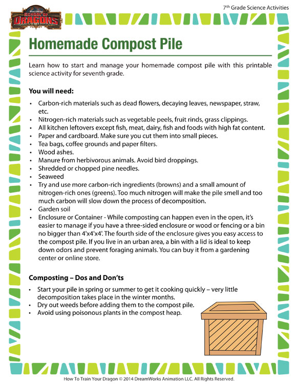 Fabulous image pertaining to printable compost list
