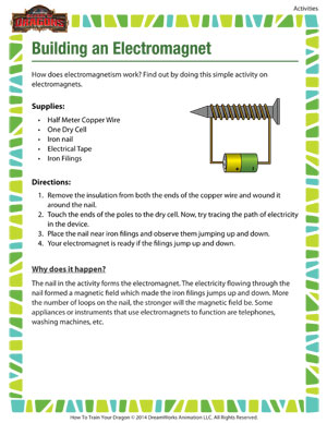 Building an Electromagnet – Cool Science Activity for 6th Grade ...