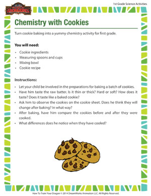 Chemistry with Cookies - Baking can teach you science!