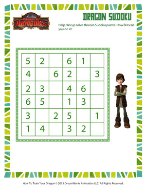 Dragon Sudoku - Dragon Resources - SoD
