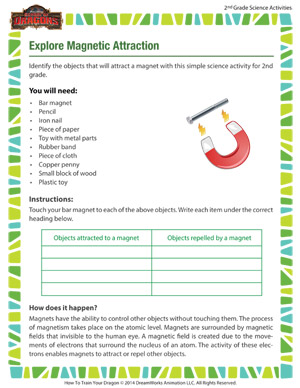 Explore Magnetic Attraction - Teaching science through fun activities