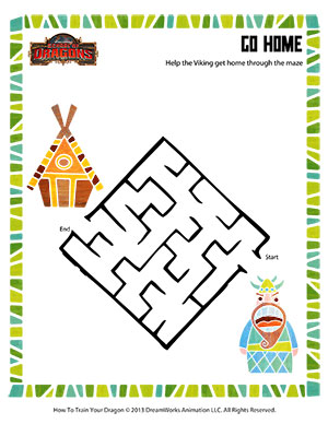 Printables School Home Worksheets go home online maze worksheets for kids school of dragons home