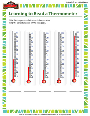 Learning to read a thermometer 1st grade science worksheet learning to read a thermometer printable 1st grade science worksheet online ibookread Download