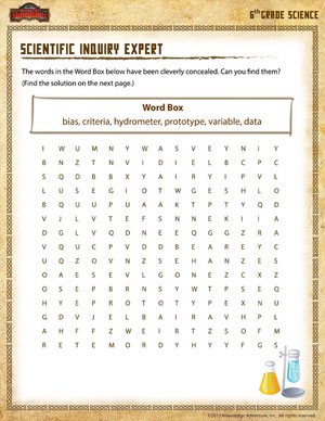 Scientific Inquiry Expert – Free Science Worksheet for 6th Grade ...
