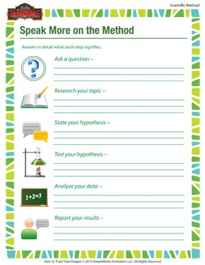 Printables Scientific Method Worksheet Elementary speak more on the method scientific school of printable worksheet