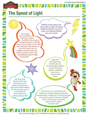 Science Worksheets On Light Light And Reflection