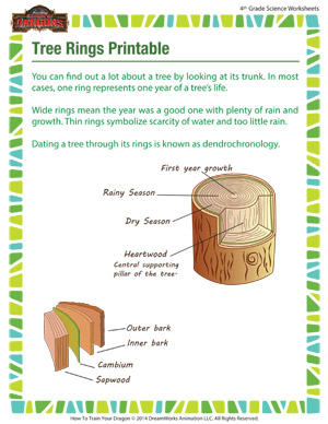 Nature Cut and Paste Worksheets For Preschool and Kindergarten