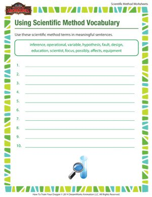 Printables Scientific Method Vocabulary Worksheet using scientific method vocabulary free printables to teach the vocabulary