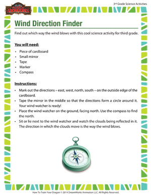 Download 'Wind Direction Finder' - Learn to make your own