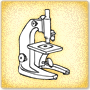 Color the Microscope - Free Science Worksheet for 2nd Grade
