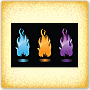 Colorful Flames - Science Activity for 7th Grade