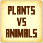 Plants Versus Animals - Printable Science Worksheet for Kindergarten