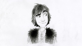 School of Dragons Hiccup Sketch